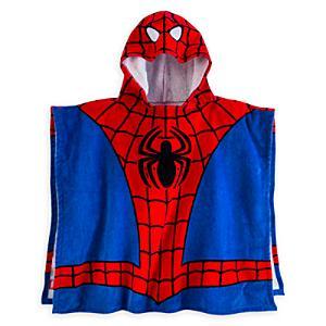 Läs mer om Spiderman handduk med huva