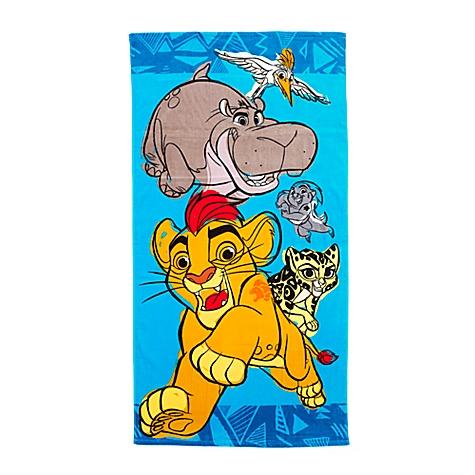 Serviette de plage La Garde du Roi Lion