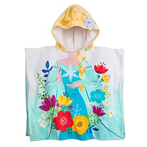 Läs mer om Elsa handduk med huva, Frost