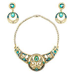 Läs mer om Prinsessan Jasmin halsband och örhängen