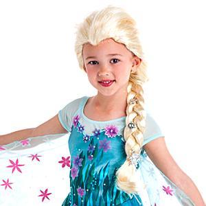 Läs mer om Elsa Frost maskeradperuk