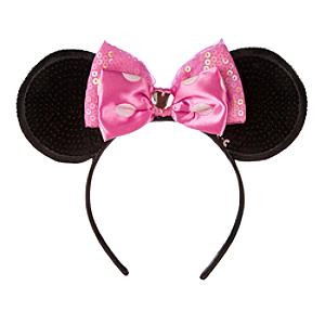 Läs mer om Mimmi Pigg diadem med rosa öron