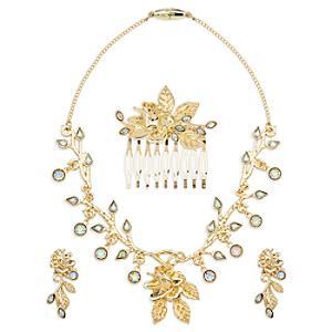 Läs mer om Smyckesset till Belle Gold dräkten, Skönheten och Odjuret