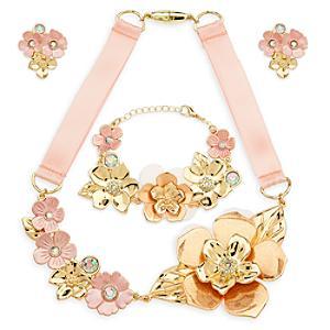 Läs mer om Smyckesset till Belles roskläder, Skönheten och Odjuret