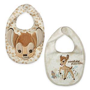 Läs mer om Bambi haklapp, 2-pack