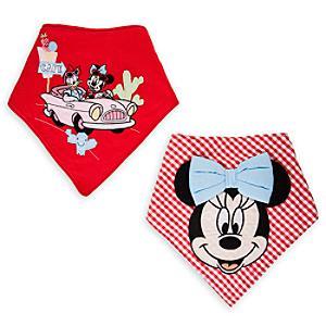 Läs mer om Mimmi Pigg scarfs-haklapp (2-pack)