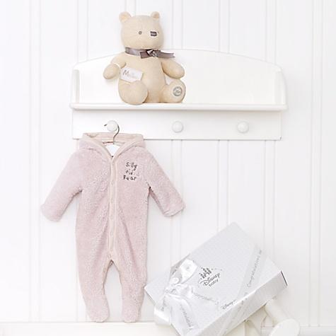 Ensemble cadeau personnalisé pour bébé Winnie l'Ourson LayetteUnisexe - nouveau né
