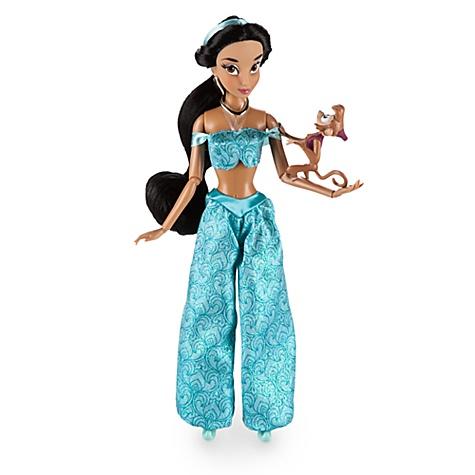 Poupée classique Princesse Jasmine, Aladdin