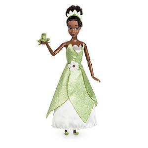 Läs mer om Tiana klassisk docka, Prinsessan och Grodan