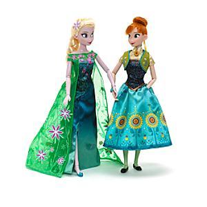Läs mer om Frostfeber Elsa och Anna dockor