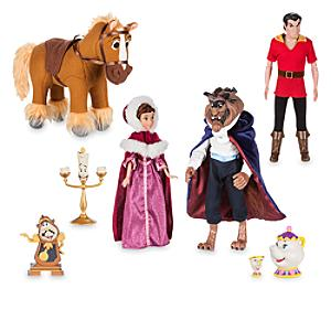 beauty-the-beast-deluxe-doll-set