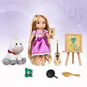 Läs mer om Rapunzel sjungande docka i presentförpackning
