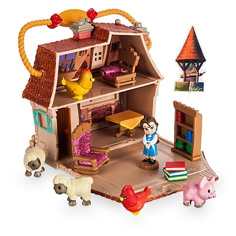 Ensemble de jeu miniature de Belle de la collection Disney Animators Littles