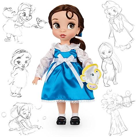 Poupée de Belle de la collection Disney Animators