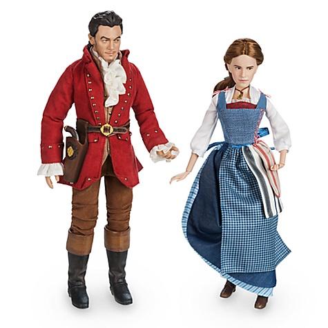 Ensemble poupées Belle et Gaston, Collection film La Belle et la Bête