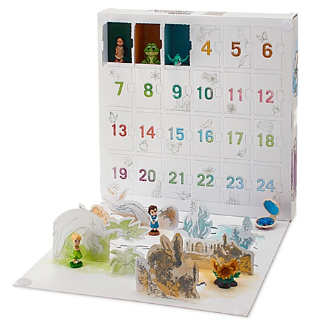 Calendrier de l'avent, collection disney animators