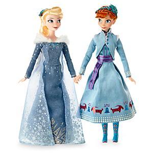Läs mer om Anna och Elsa dockset, Olofs frostiga äventyr