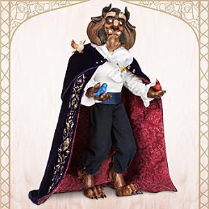 Läs mer om Odjuret docka i begränsad upplaga, Skönheten och Odjuret
