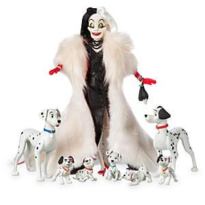 Läs mer om Disney Designer Collection Cruella de Vil-docka