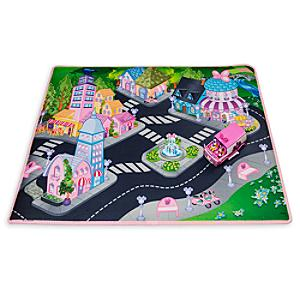 Image of Tappetino da gioco con furgone Minni