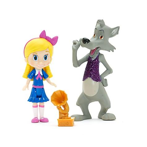 Ensemble de poupées Boucle d'Or et Le Grand Méchant Loup, Boucle d'Or & Petit Ours