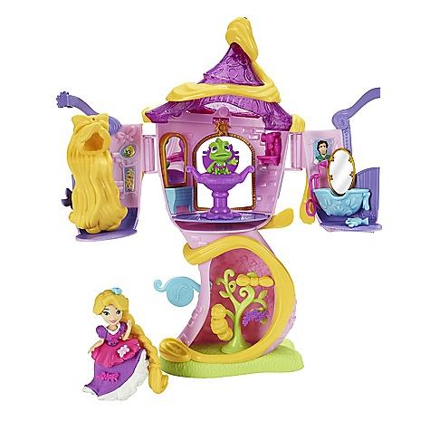 Ensemble mini poupée La tour de Raiponce