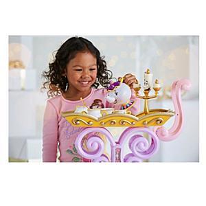 Belles Tea Cart Beauty and the Beast