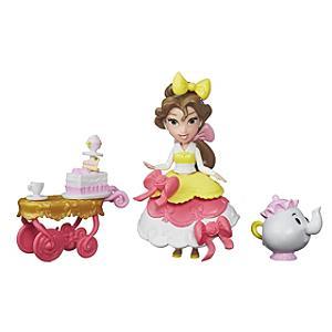 Belles Teacart Treats Mini Doll Set Beauty and the Beast