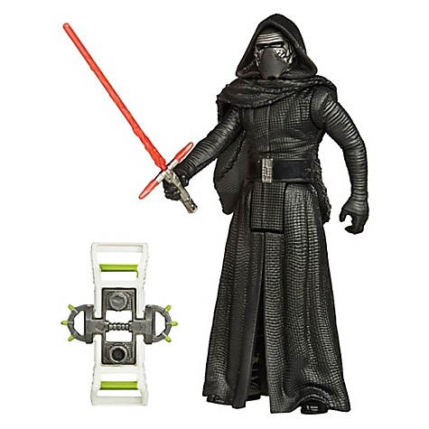 Figurine 9,5 cm Star Wars : Le Réveil de la Force Kylo Ren Mission Forêt