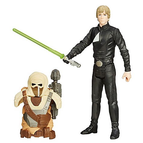 Figurine 9,5 cm Star Wars : Le Retour du Jedi Luke Skywalker Jedi Mission Désert