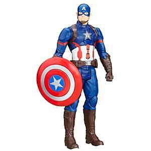 Läs mer om Captain America: Titan Hero 30 cm actionfigur, Captain America: Civil War