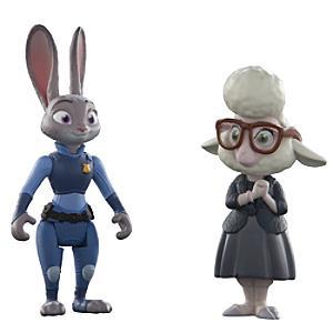 Läs mer om Judy Hopps och vice borgmästare Bellwether figurer, Zootropolis