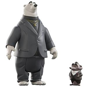 Läs mer om Kevin och Mr Big figurer, Zootropolis
