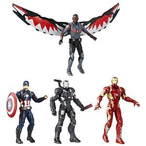 Läs mer om Marvel Legends-serien Captain America: Civil War figurset (4-pack)