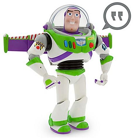 Figurine parlante Buzz l'?clair 30 cm