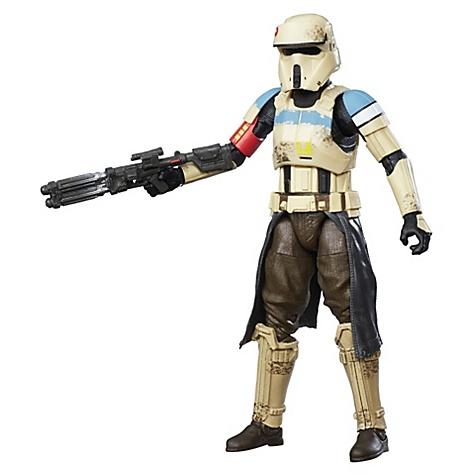 Stormtrooper Scarif 15 cm de La Série Noire, Rogue One: A Star Wars Story