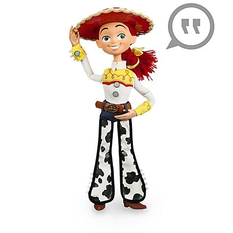 Figurine parlante de Jessie, Toy Story