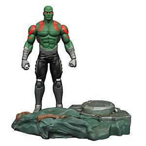 Läs mer om Marvel Select Guardians of the Galaxy Drax actionfigur med sammankopplande plattform