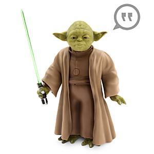 Läs mer om Talande interaktiv Yoda actionfigur, Star Wars