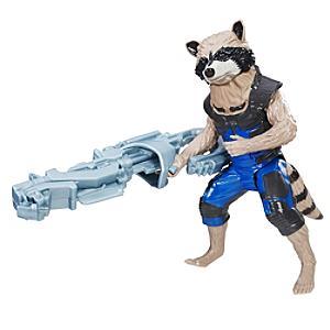 Läs mer om Rocket Raccoon figur, 30 cm, från Titan Hero-serien, Guardians of the Galaxy
