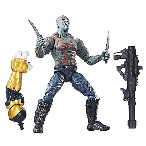 Figurine Drax 15cm série Legends, Gardiens de la Galaxie Vol. 2