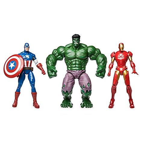 Ensemble Cadeau de figurines articulées marvel avengers