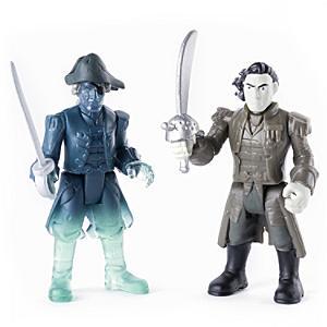 Läs mer om Actionfigurset med kapten Salazar och spökbesättningsman, Pirates of the Caribbean: Salazar?s Revenge