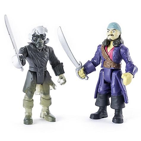Ensemble de figurines articulées Will Turner contre le pirate fantôme, Pirates des Caraïbes: La Vengeance de Salazar