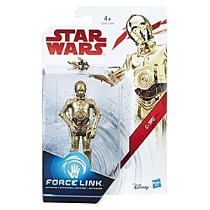 Läs mer om Star Wars C-3PO Force Link-figur
