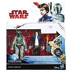 Läs mer om Han Solo & Boba Fett 2-pack, Star Wars