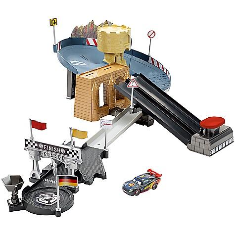 Circuit à deux voies Carbon Racers Disney Pixar Cars