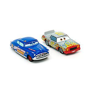 Läs mer om Disney Pixar Bilar Johan Motorén och Hudson Hornet diecast-modeller