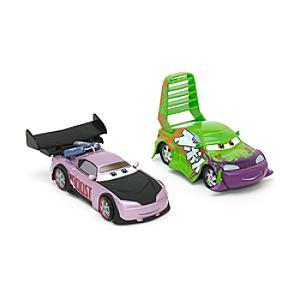 Läs mer om Disney Pixar Bilar Wingo och Boost diecast-modeller