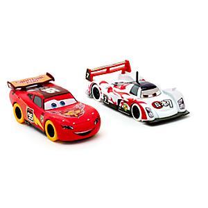Läs mer om Disney Pixar Bilar Blixten McQueen och Shu Todoroki diecast-modeller